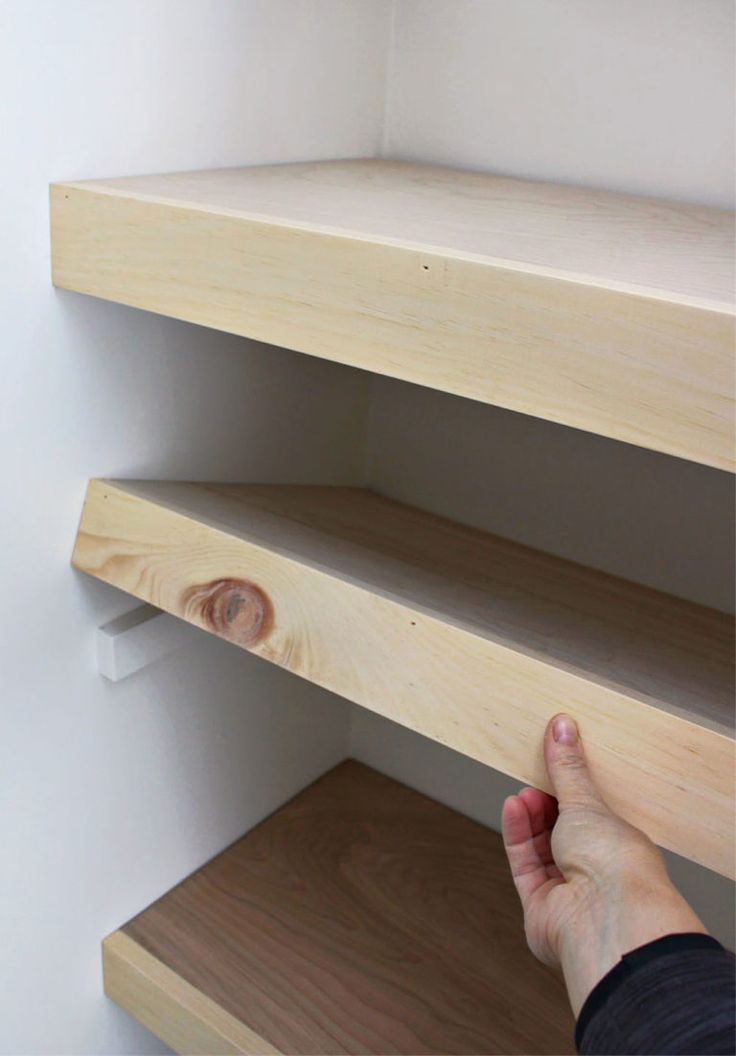 Simple pretty plywood shelves, #simple #hubsche #splywood shelves