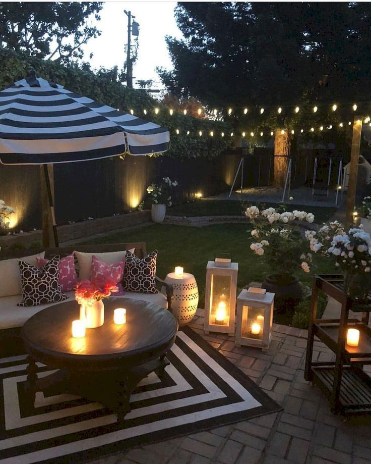 groß  65 Awesome Backyard Patio Deck Design and Decor Ideas  #awesome #backyard...