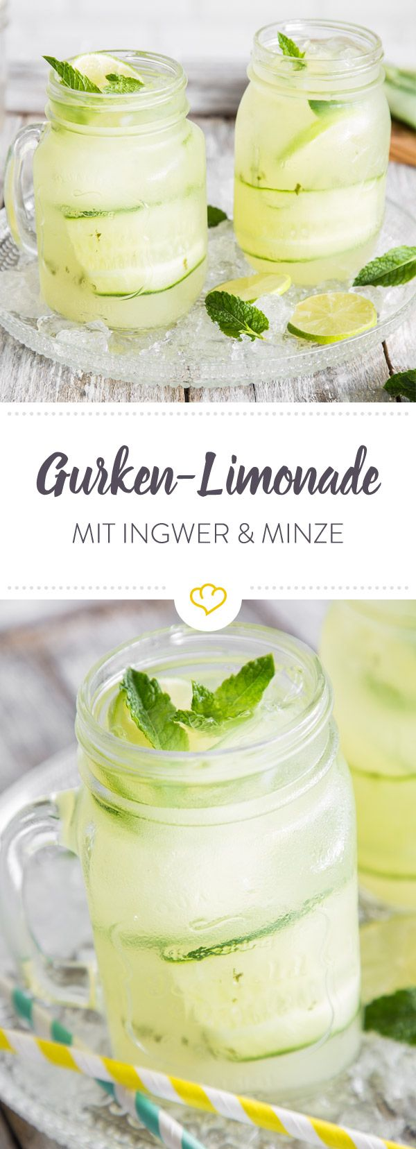 Lemonade and cucumber - the two have searched and found each other. Together with Ingw ...