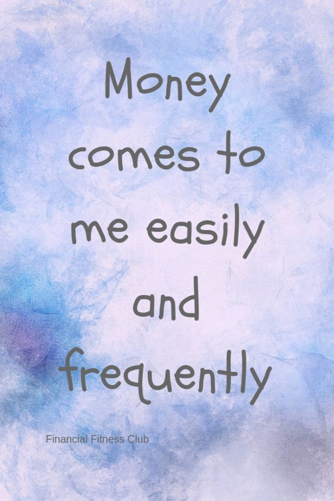 Wealth Card: Money comes to me easily and frequently Every day, intuitively choo...