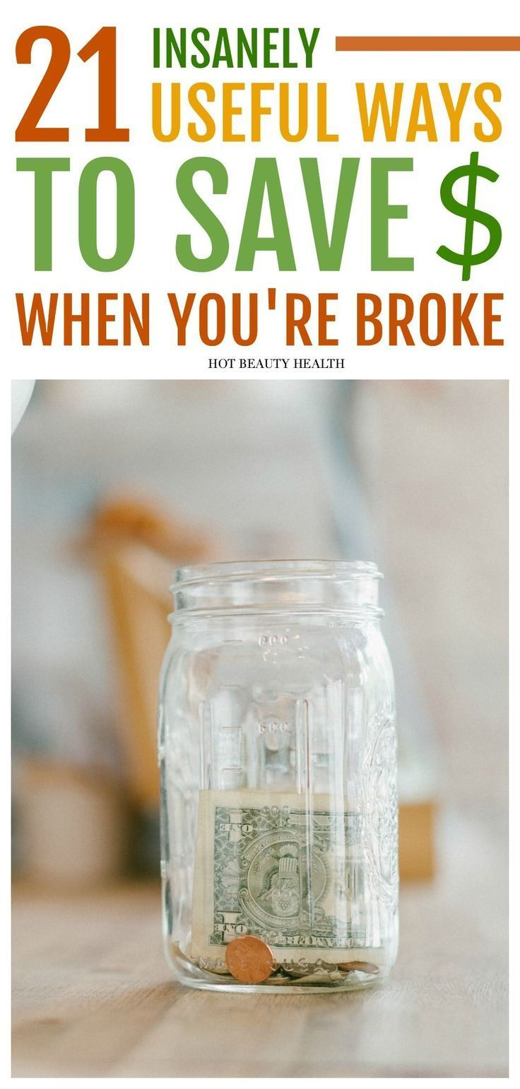If you're broke or struggling financially, you'll love these money saving ti...