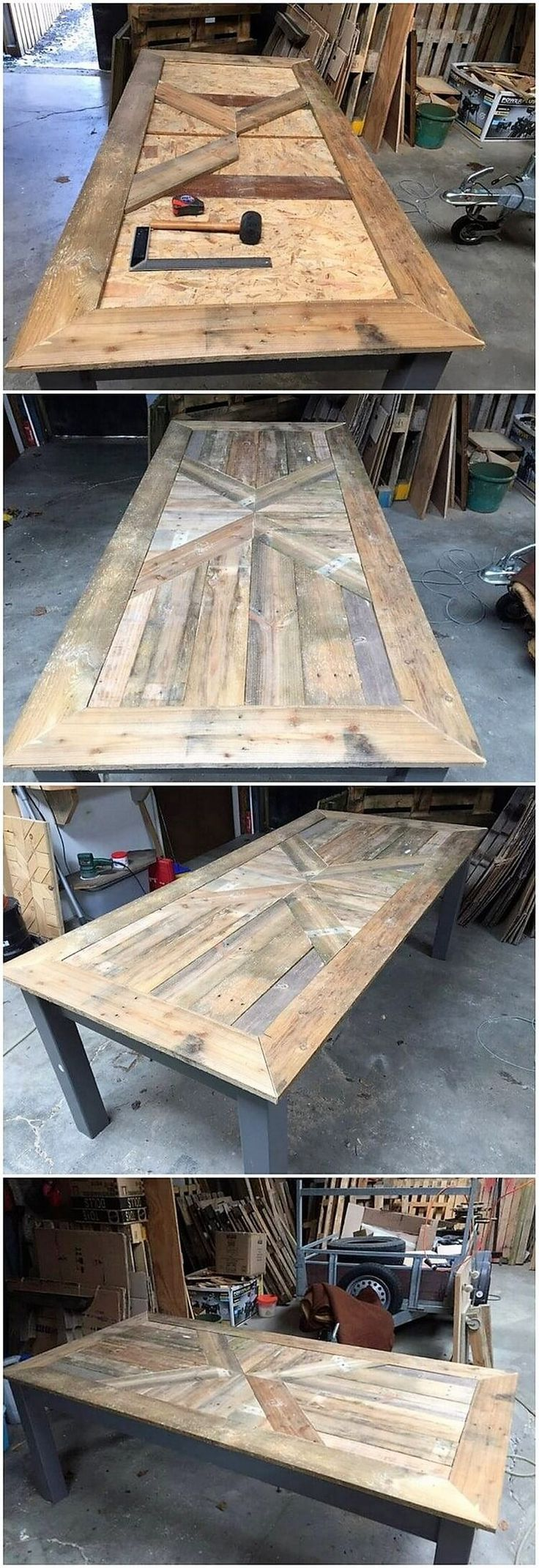 Incredible Ideas for Upcycling Shipping Wooden Pallets #wood Pallets # Ideas #u ...