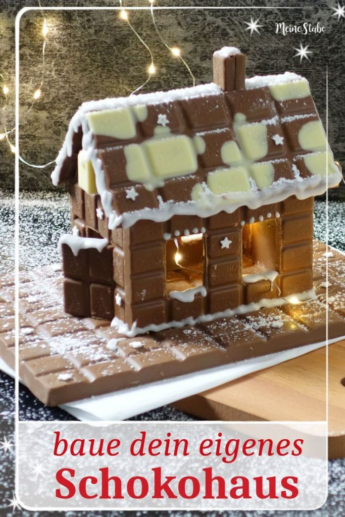 Instructions for a chocolate house. Build your dream house out of chocolate bars with your ...