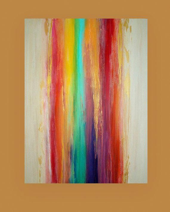 Art Acrylic Abstract Painting Original Canvas by OraBirenbaumArt #abstractartpai...