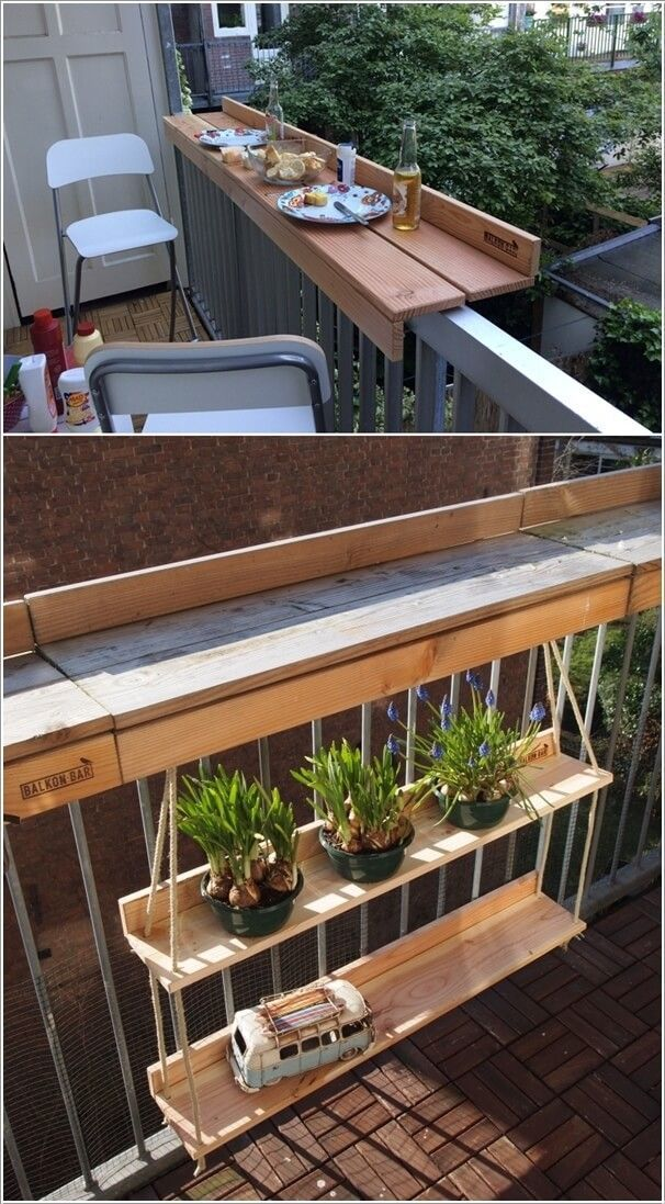 # Decoration-5 clever ways to make the balcony of your apartment more beautiful ...