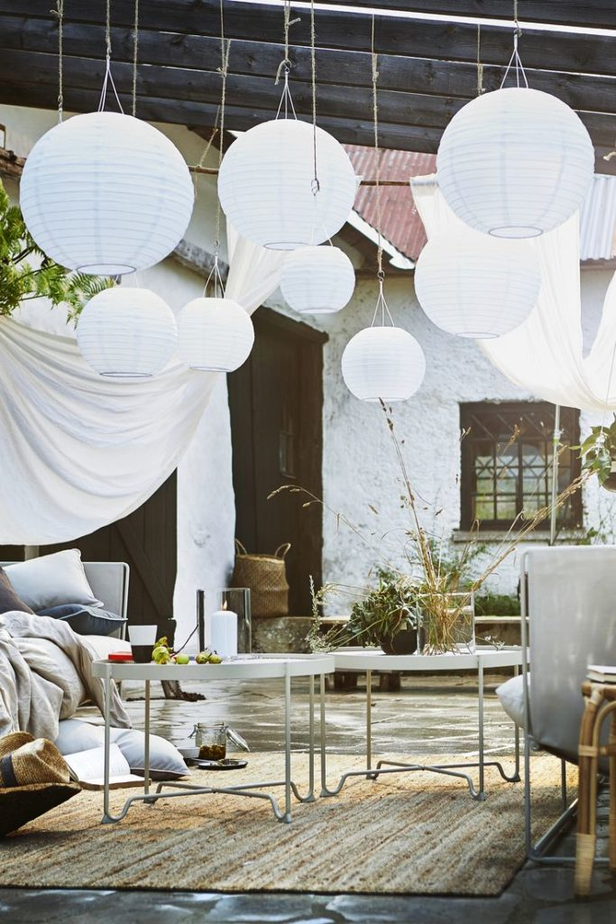 IKEA Germany | Lamps made of paper for inside and outside may in your ...
