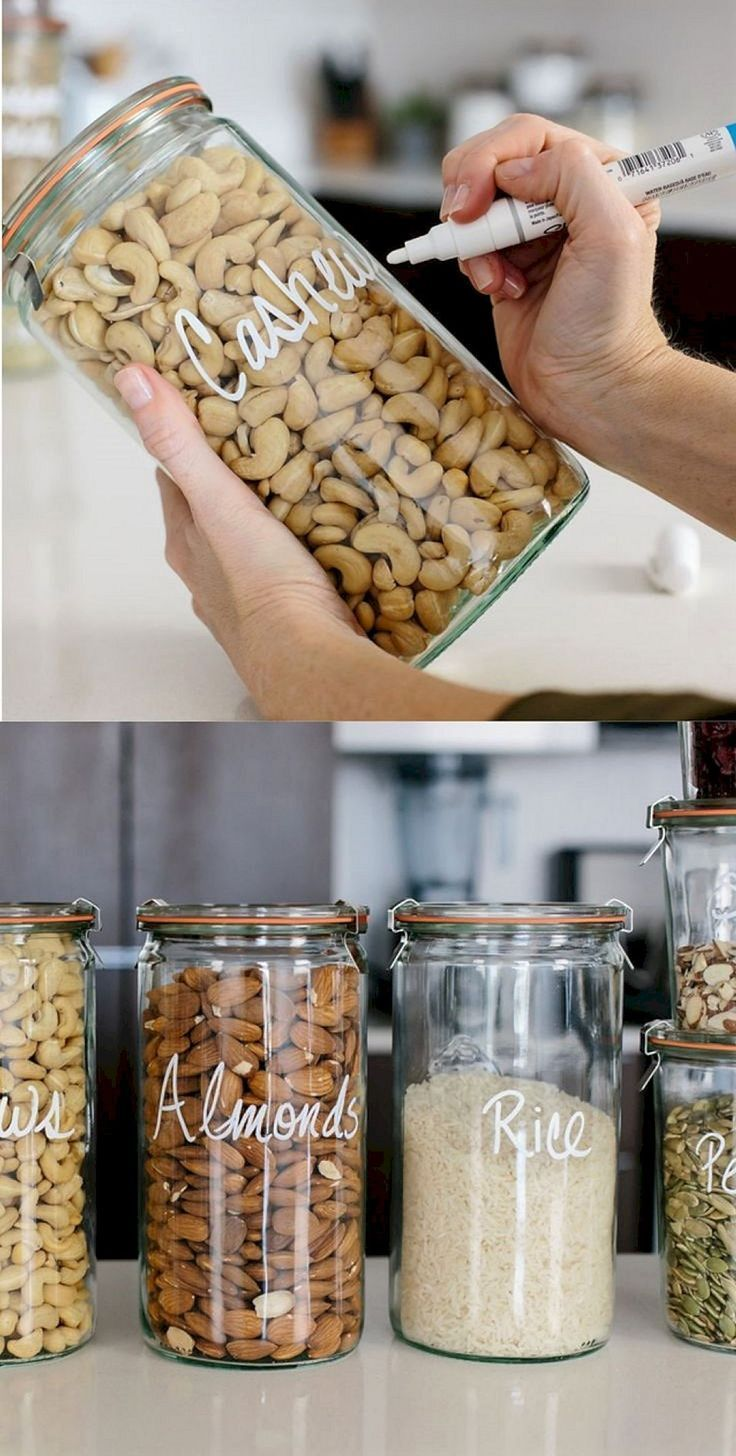 15 stunning DIY kitchen solutions for small and space-saving ideas #ate ...