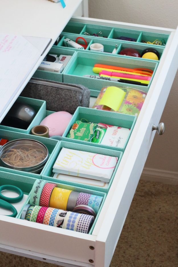 15 handy crafting ideas for the crafting area # ideas #diy #storage #ideas #cr ...