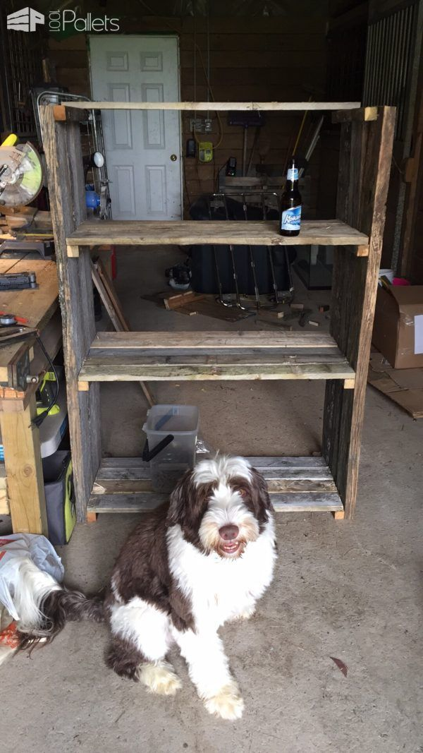 Easy Diy Pallet Barn Shelves  Easy DIY Pallet Barn Shelves Pallet Shelves & Pall...