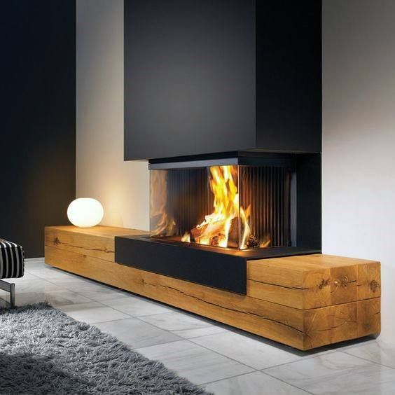 The 70 Best Modern Fireplace Design Ideas - Luxury Interior