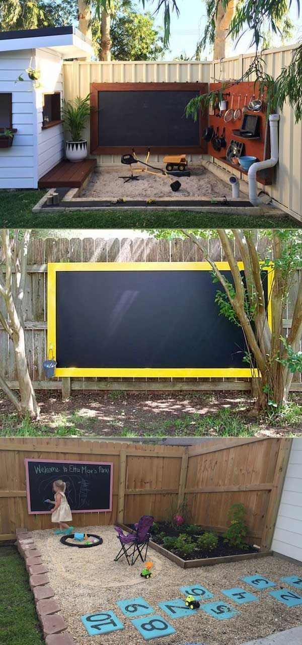 15 cool and inexpensive projects for a children's playground #coole #diypr ...