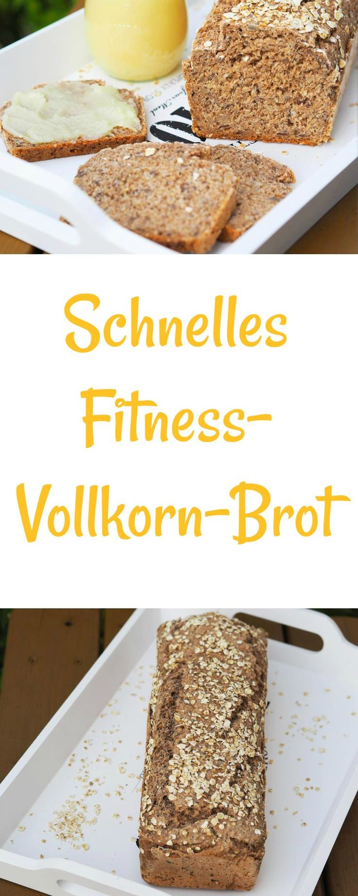 I like to bake a delicious, fast fitness wholegrain bread. High Vol ...