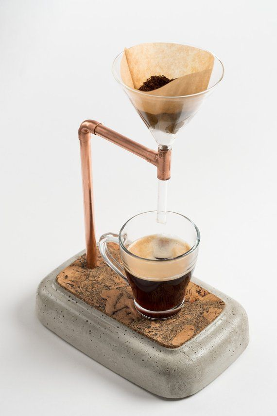 Concrete Coffee Maker - Coffee Maker - Ideas of Coffee Maker #CoffeeMaker -  Con...