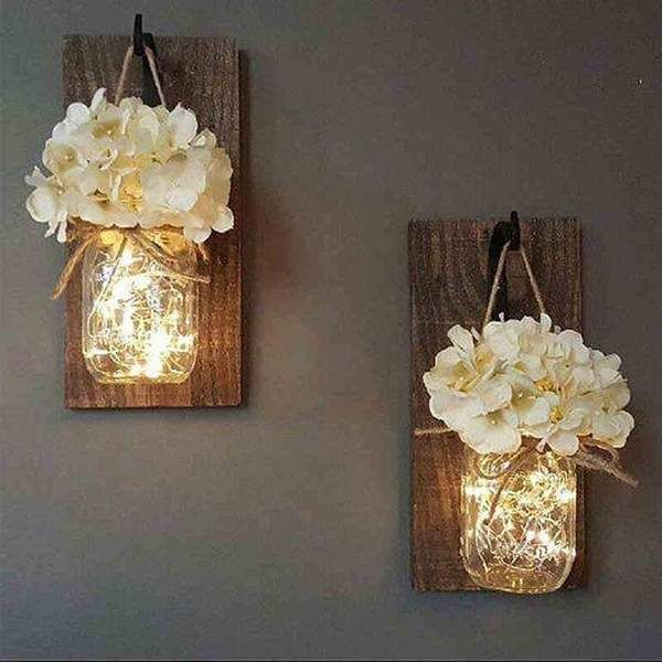 Legende  Jinx - Fairy Light Einmachglas zur Wandmontage  #deko #dekoration #Deko...