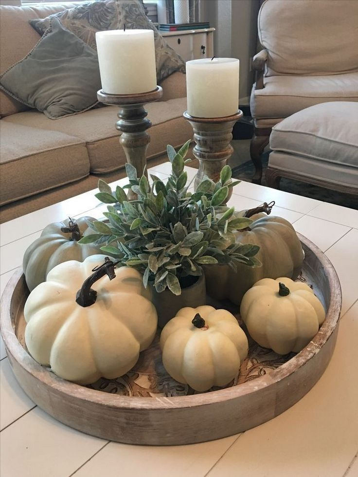 34 #Coffee #Table #Thanksgiving #Decorate #Ideas # alladecor.com /