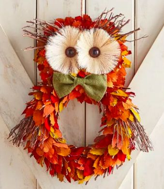 Where to buy fall wreaths. Fall decor for almost any budget. #fallwreaths #ductt...