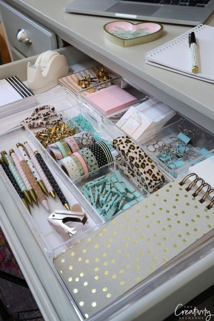 Tips and Products for Organizing Creative Drawers - #creative #organize #pro ...