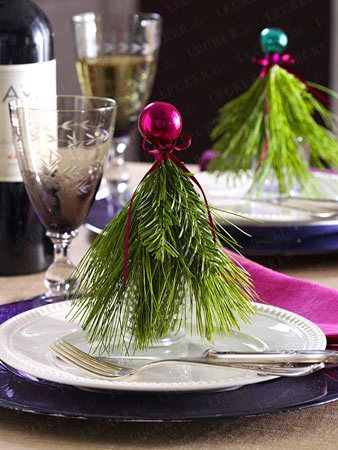 Christmas table decoration for festive splendor - Christmas-table decoration-55 Re ...