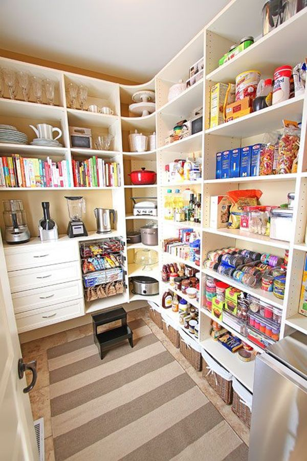 15 Organized Pantries That Make You Smile #ikea #tupperware #hacks ...
