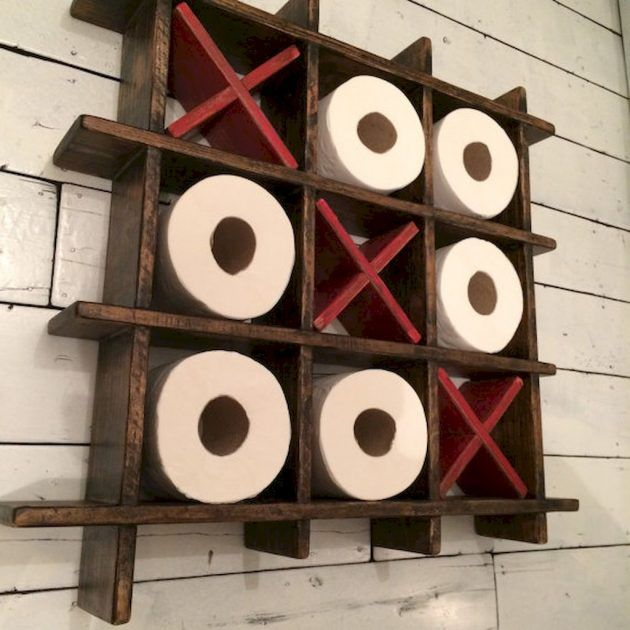 16 really cool ways to store toilet paper in the bathroom #ba ...
