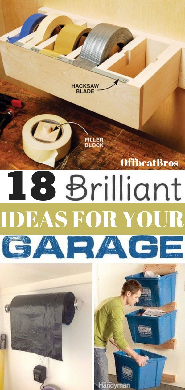 18 Genius Garage Organization Ideas You Must Know Garage organization should not...