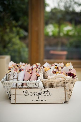 20+ DIY Craft Ideas for Wedding - DIY Confetti