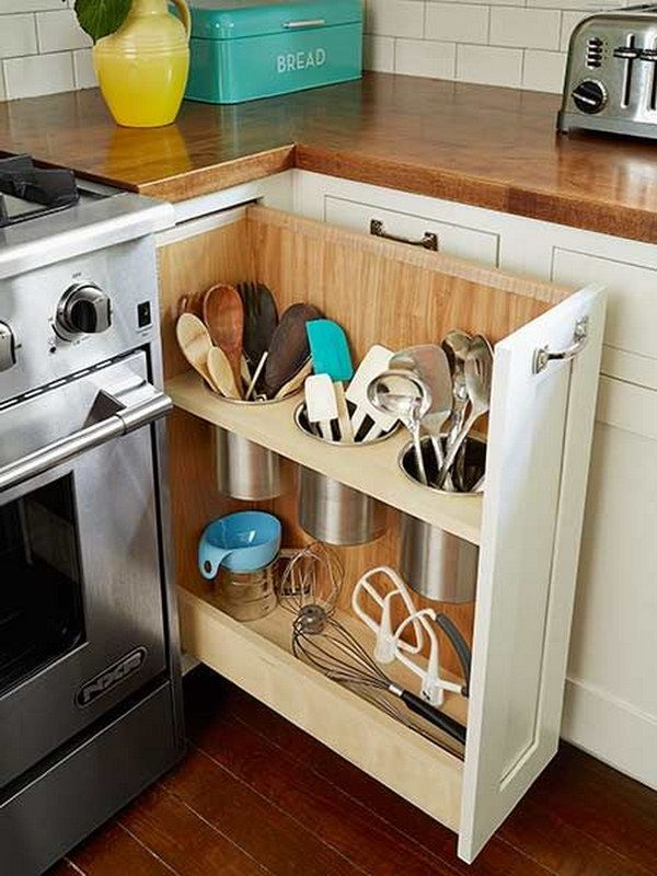 23 Practical kitchen organization Ideas that save you a lot of space # Ideas #ih ...