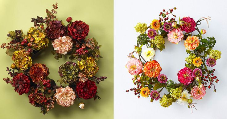 25 Fall Wreaths That Celebrate the Best Parts of Autumn