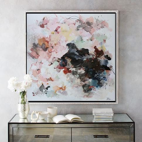 "48""x48"" large abstract painting,modern abstract art,Contemporary art,room wall d..."
