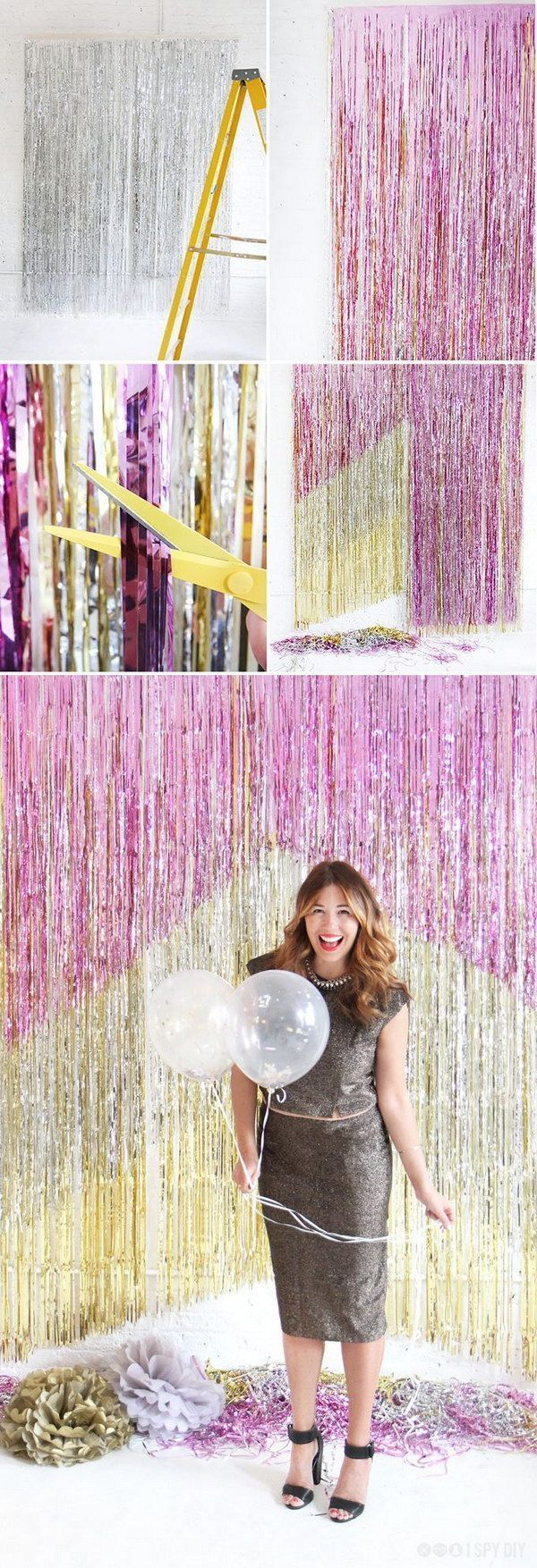52 Awesome New Year Party Ideas With Many DIY Tutorials - New Year Decor