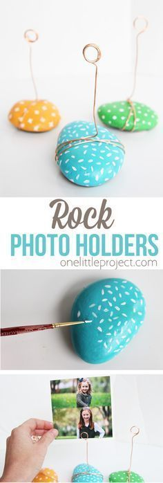 These ADORABLE photo holders do not take time and are such a great kid ... #ado ...