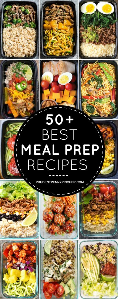 Prepare your meals for the week with these healthy and easy meal prep recipes. T...
