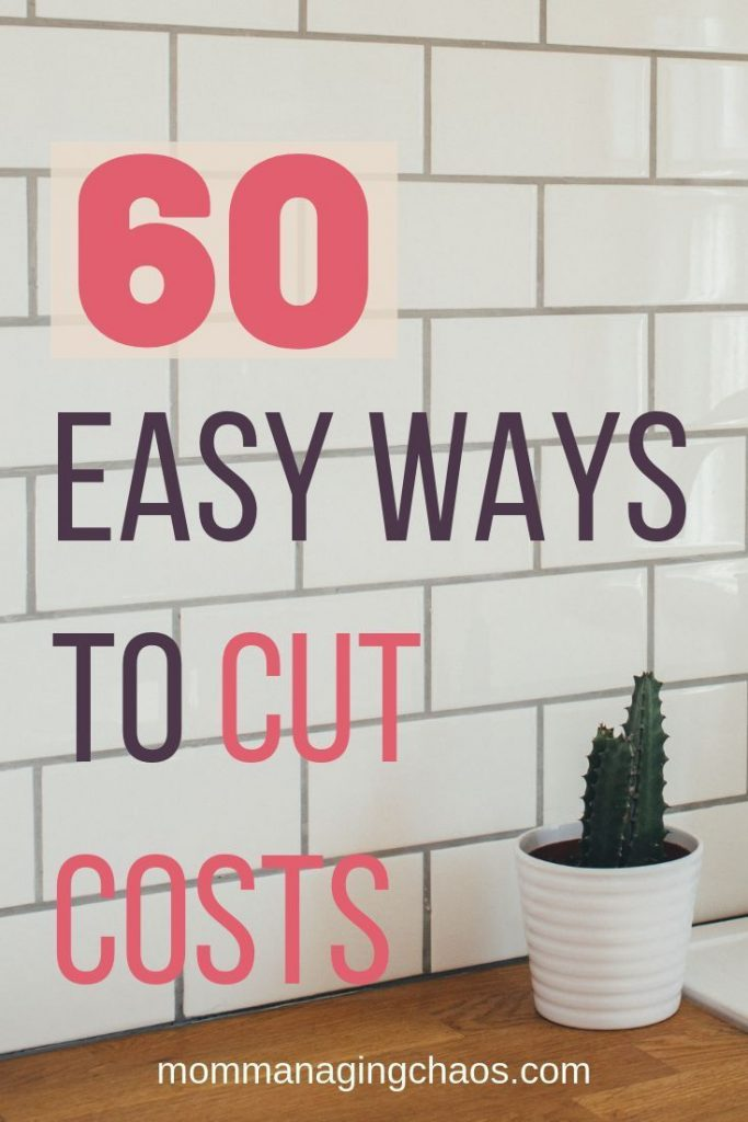 Are you looking for more ways to save money? Check out this list of 60 things yo...
