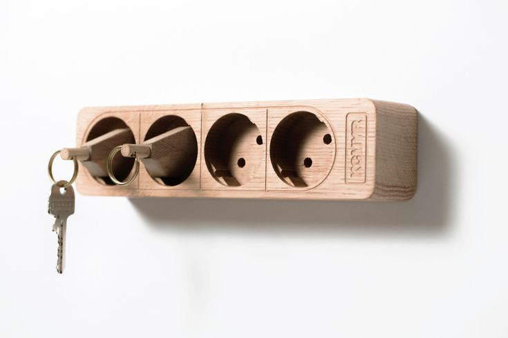 BORIS PLUG, the key board with a difference. CNC machined in oak 4-fold ...