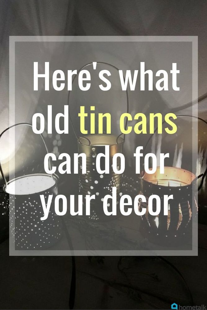 Before you toss those empty cans, take a gander at this little repurpose. You ca...