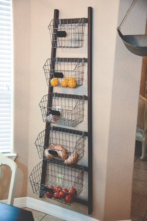 Best ways to use wire baskets for storage at home