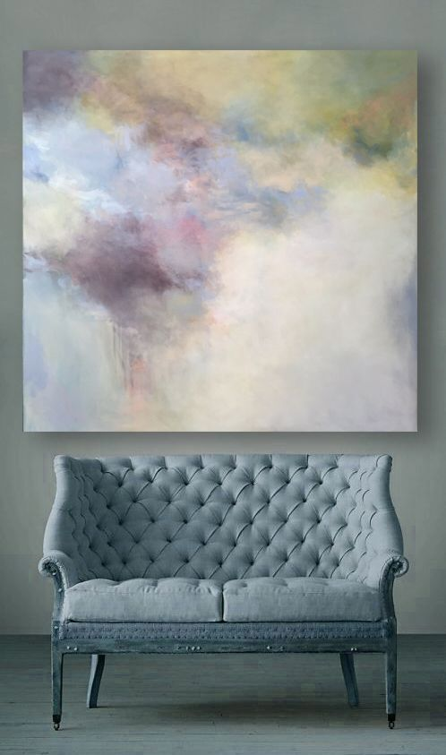 Both solace and nourishment. 60x60. Oil on canvas. Sharon Kingston artist.  cont...