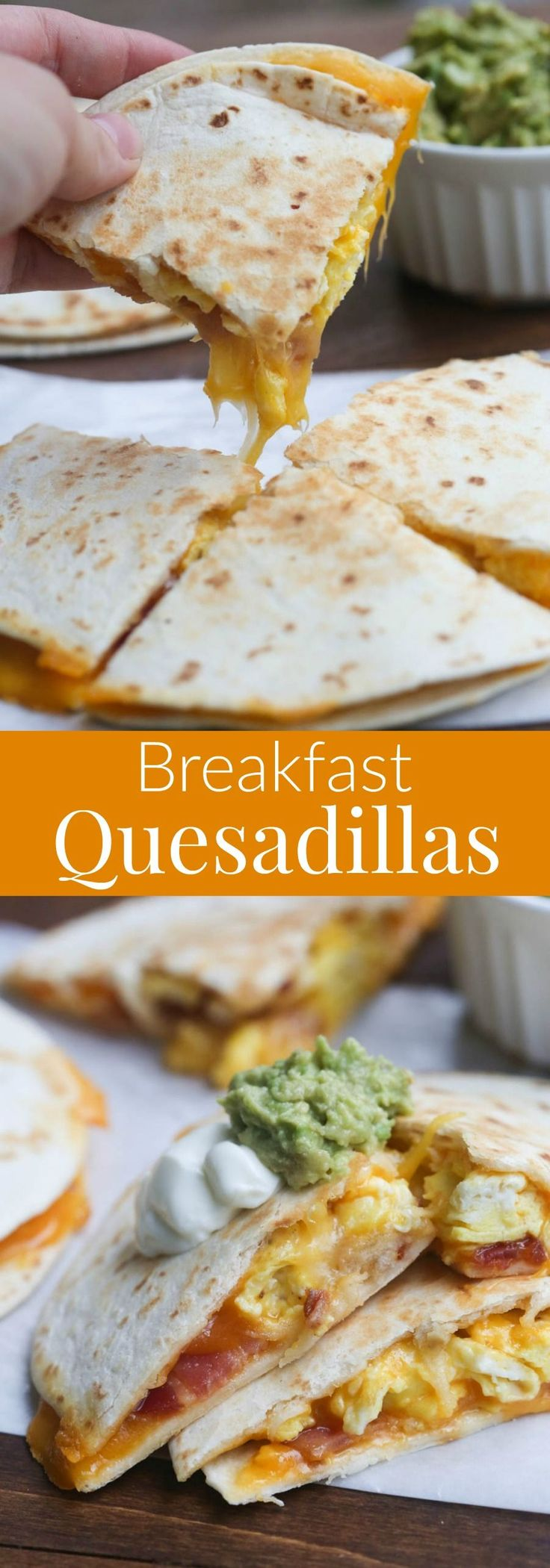 Breakfast Quesadillas A major upgrade to the already delicious avocado toast is ...