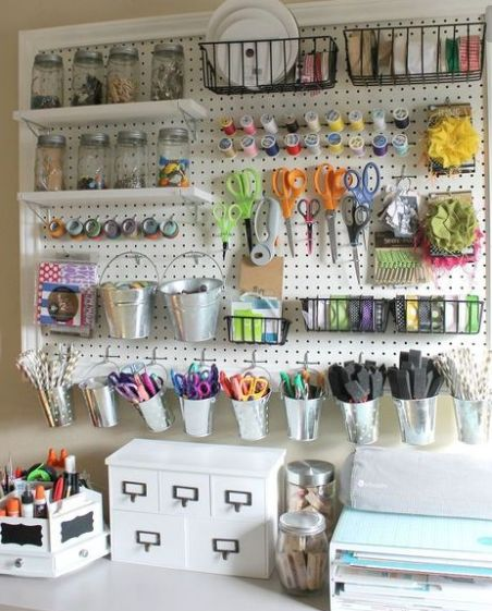 Craft Room Ideas for Small to Big Spaces Take a look at this post which shares a...