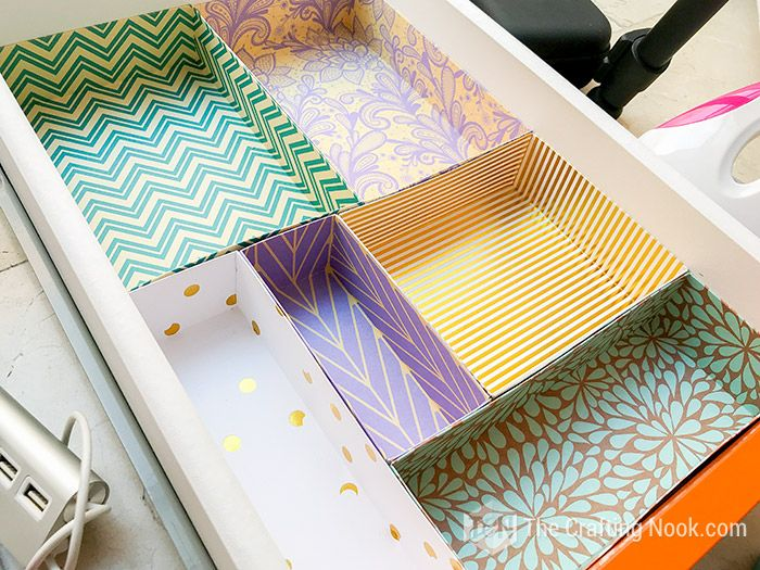 DIY Drawer Dividers for Desk Organizing (+Tips and Tricks) | The Crafting Nook