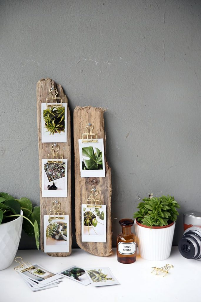 {DIY} Gift Idea: Instant display of driftwood