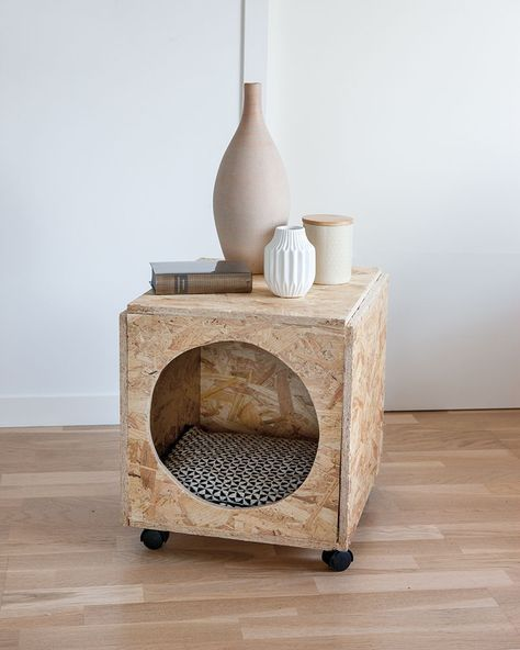 DIY animals: a cat house in a bedside table - Marie Claire Idée ...