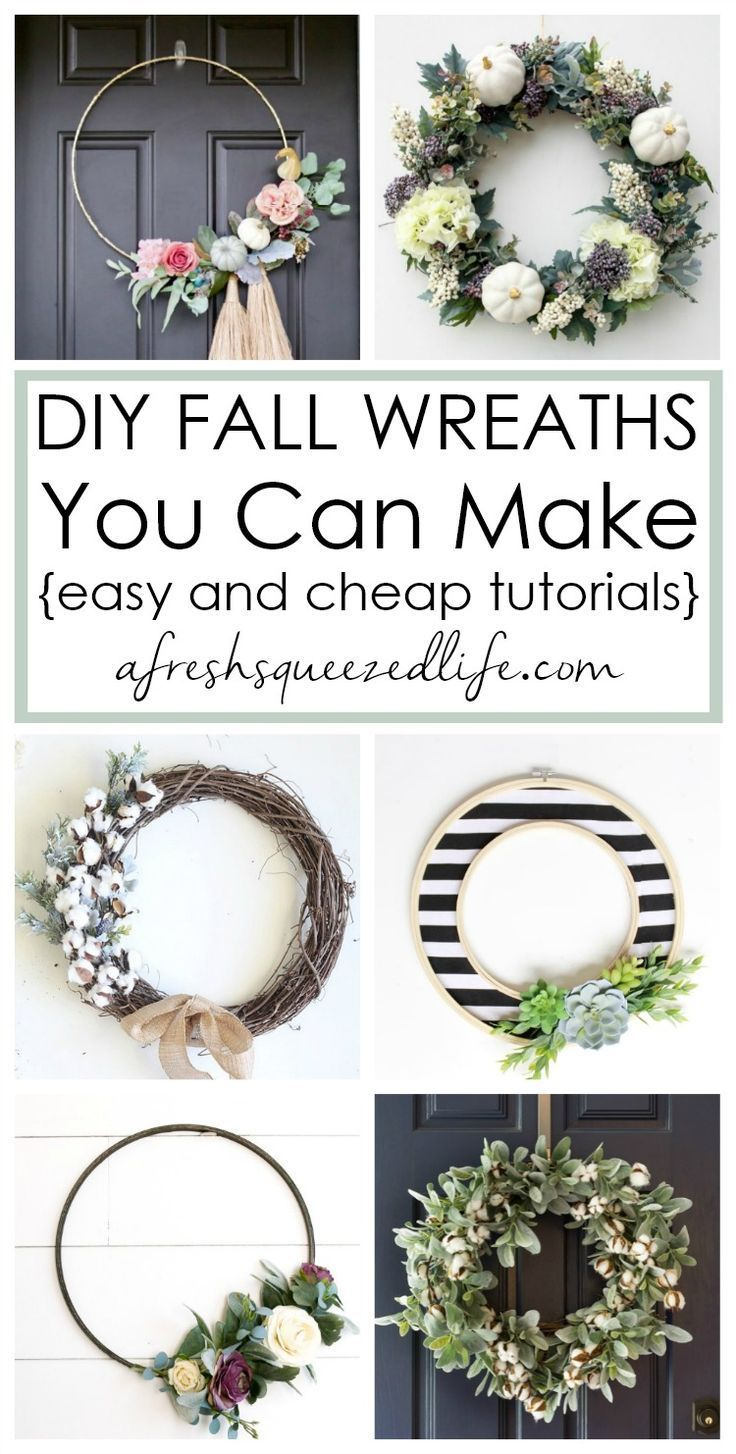 Do you want to make an easy DIY fall wreath?  Whether your home decor is farmhou...