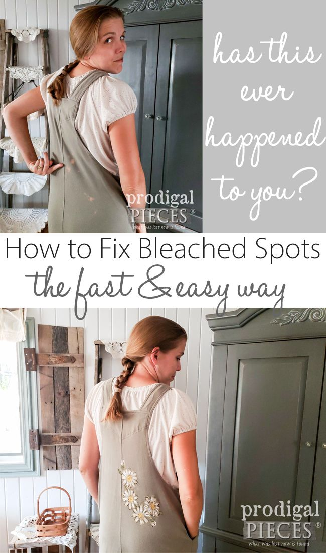 Don't toss those damaged clothes. Larissa of Prodigal Pieces shows you how to fi...