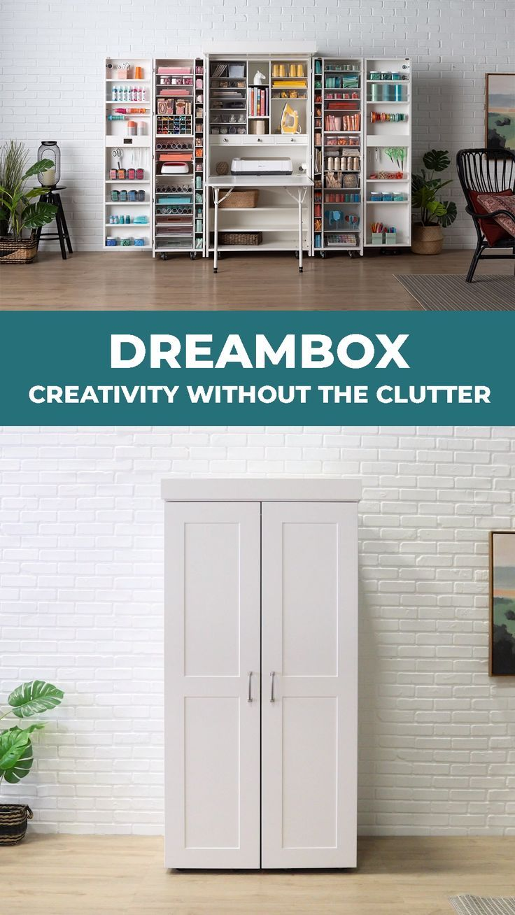 DreamBox: Creativity Without the Clutter - #bath #clutter #creativity #DreamBox
