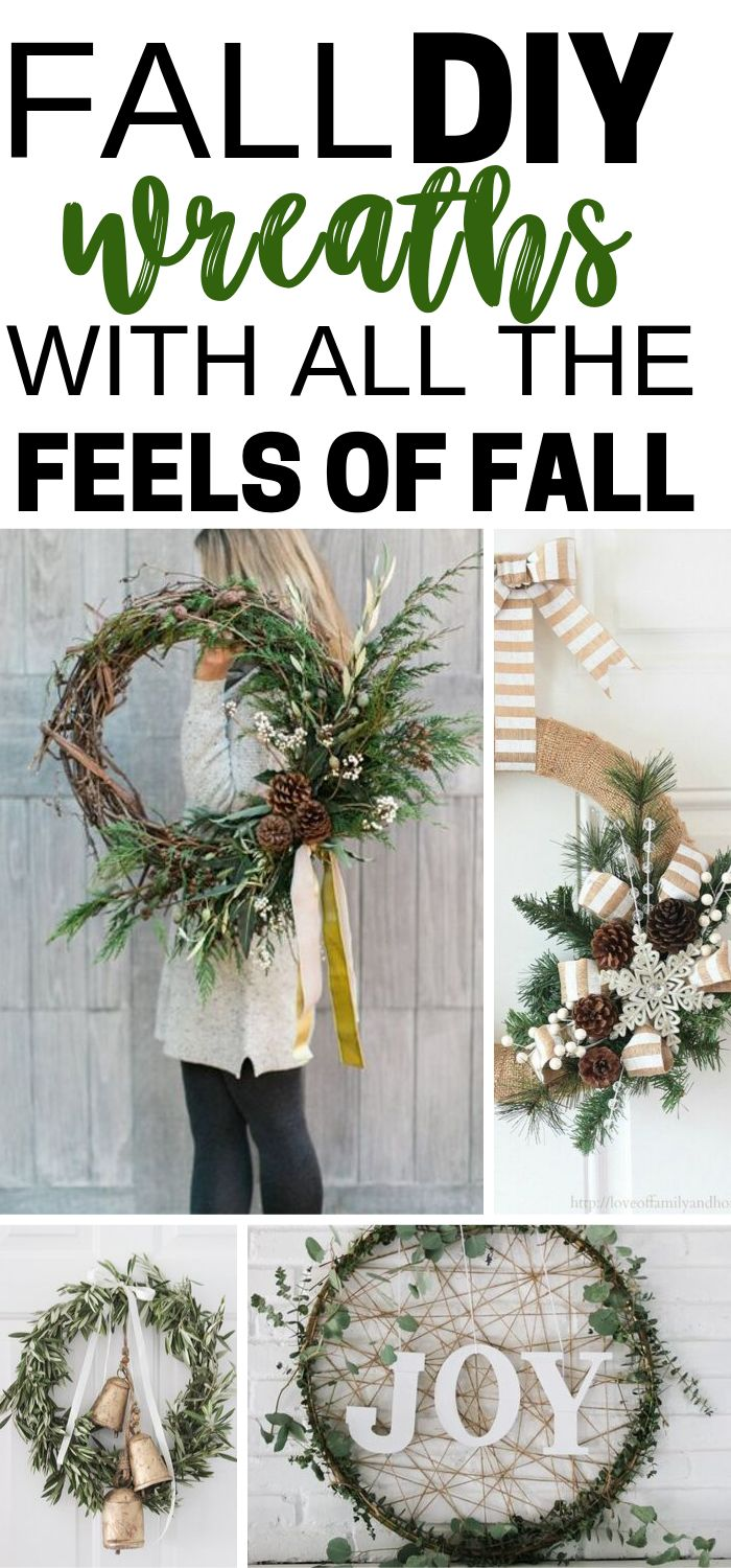 Fall DIY Wreaths With All The Feels Of Fall