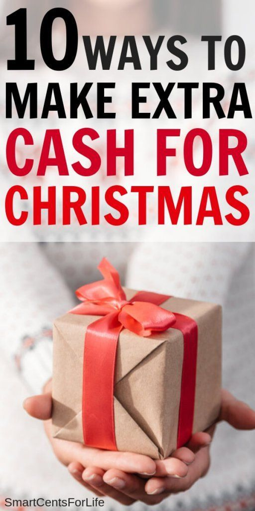 Find out 10 super easy ideas that will help you make extra cash for Christmas. H...