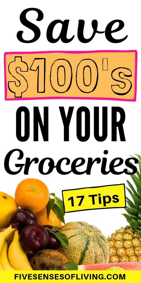 Find out exactly how to save money on groceries even while eating healthy! We us...