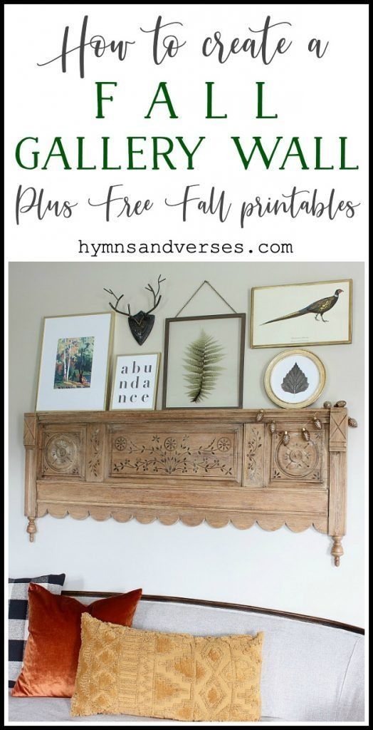 Free Fall Printable and links to everything shown, including downloadable fall a...