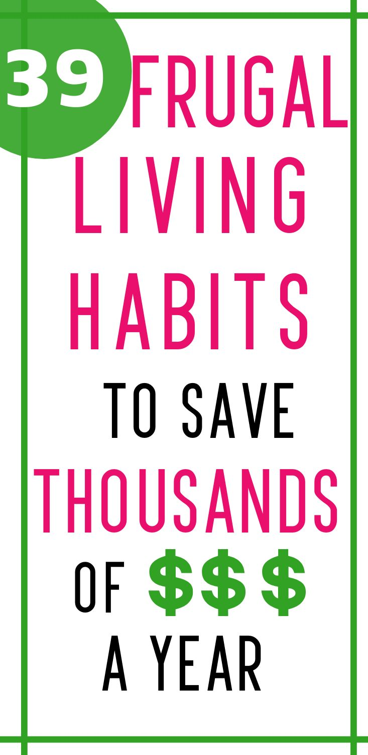 Frugal living tips to save money and get ahead on your budget. Learn to live che...